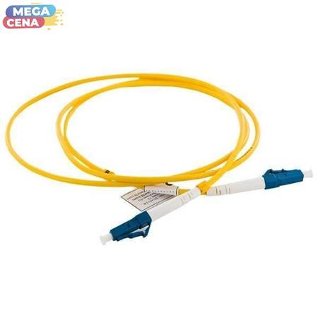 4World Patch Cord Cable LC/UPC-LC/UPC SX SM G652D 1m
