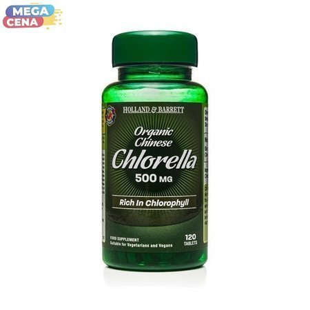 Chlorella Chińska 500 mg 120 Tabletek