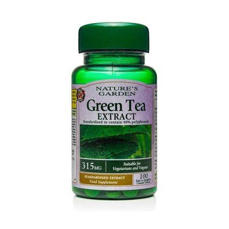 Ekstrakt z Zielonej Herbaty 315 mg 100 Tabletek