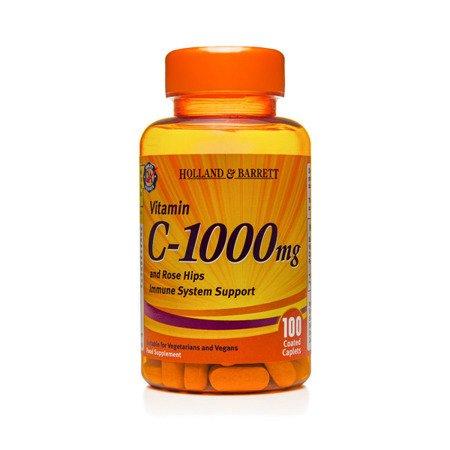 Witamina C 1000 mg z Dziką Różą 100 Kapletek