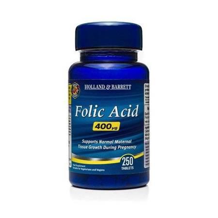 Kwas Foliowy 400 ug 250 Tabletek
