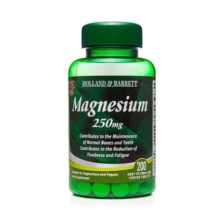 Magnez 250 mg 200 Tabletek
