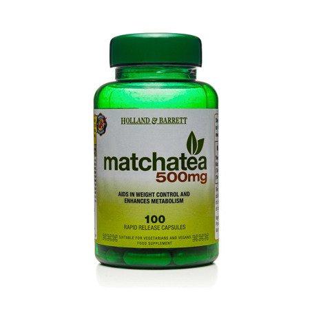 Matcha 500 mg 100 Kapsułek