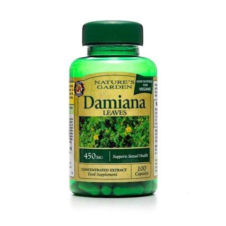 Nature's Garden Liść Damiany 450 mg 100 Kapsułek