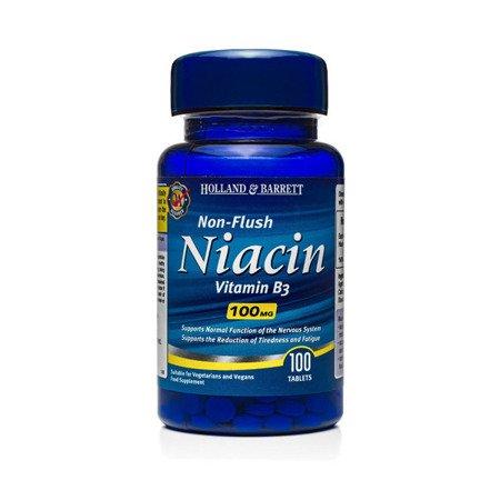 Niacyna B3 100 mg 100 Tabletek