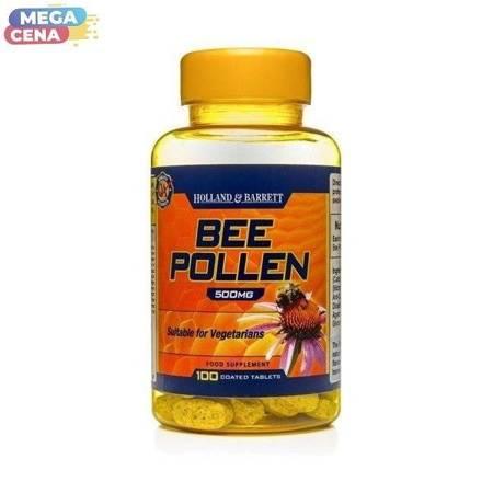 Pyłek Pszczeli 500 mg 100 Tabletek