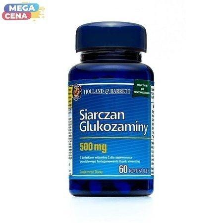 Siarczan Glukozaminy dla Pescowegetarian 60 Kapsułek 500mg