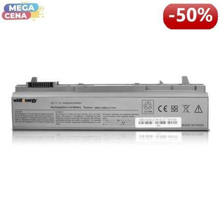 Whitenergy Bateria Dell Latitude E6500 11,1V 4400mAh metaliczna szara