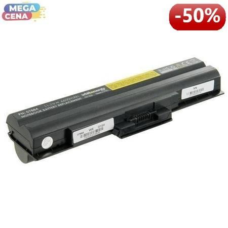 Whitenergy High Capacity Bateria Sony BPS13 / BPL13 11,1V 6600mAh czarna