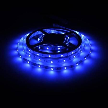 Whitenergy Taśma LED 5m 30szt/m SMD5050 7.2W/m 12V IP20 10mm RGB bez konektora