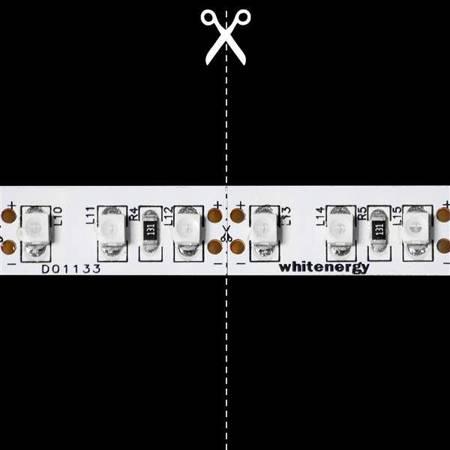 Whitenergy Taśma LED 5m 60szt/m SMD5050 14.4W/m 12V IP20 10mm zielona bez konektora