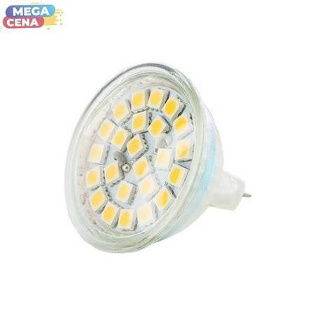 Whitenergy Żarówka LED 4.5W  GU5.3 MR16 SMD5050 ciepła 12V Halogen / szybka