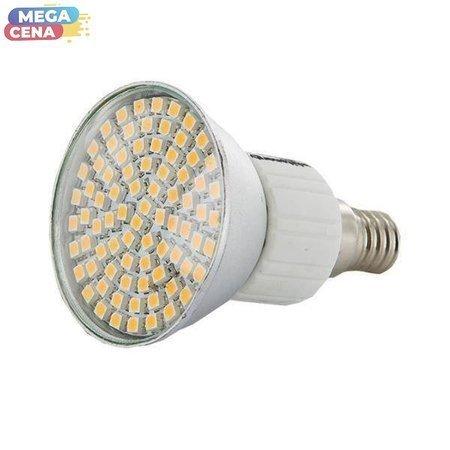 Whitenergy Żarówka LED 4W  E14 MR16 SMD3528 ciepła 230V Halogen / szybka