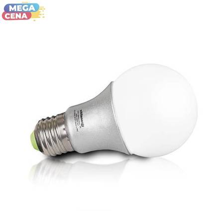 Whitenergy Żarówka LED 7W  E27 A60 500lm SMD2835 ciepła 230V  Klasyczna / mleczne