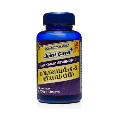 Zestaw Suplementów 2+1 (Gratis) Maksymalnie Mocna Glukozamina i Chondroityna 60 Kapletek